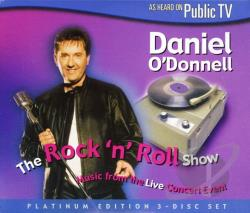 O'Donnell, Daniel - Rock 'N Roll Show CD Cover Art