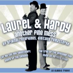 Laurel and Hardy - Another Fine Mess CD Cover Art