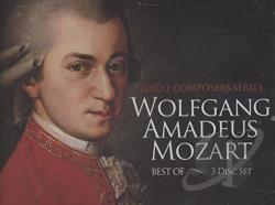 Mozart - Best of Mozart CD Cover Art