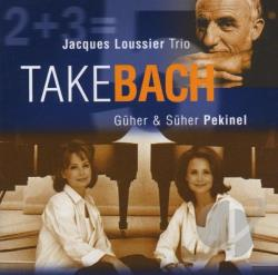 Loussier, Jacques - Take Bach CD Cover Art
