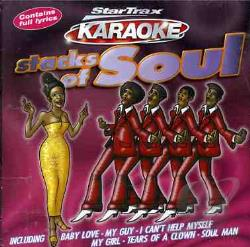 Startrax Karaoke - Stacks Of Soul CD Cover Art