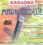 Collie, Mark - Karaoke: Mark Collie CD Cover Art