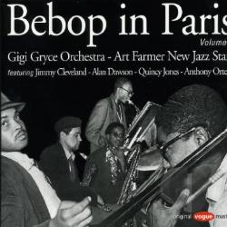 Gryce, Gigi - Bebop In Paris, Vol. 2 CD Cover Art