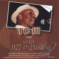 TC 3 - Mega Jazz Explosion CD Cover Art