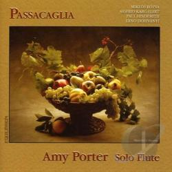 Hindemith / Porter / Rozsa - Passacaglia CD Cover Art