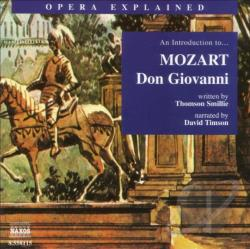 Mozart / Timson - An Introduction to Mozart's Don Giovanni CD Cover Art