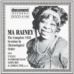 Rainey, Ma - Complete Recorded Works: 1928 Sessions CD Cover Art