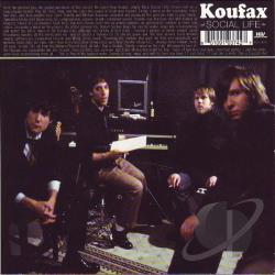Koufax - Social Life CD Cover Art