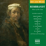 Art & Music: Rembrandt Music Of His Time - Rembrandt: Music of His Time CD Cover Art