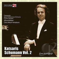 Katsaris, Cyprien:pno - Schumann: Piano Works, Vol. 2 CD Cover Art