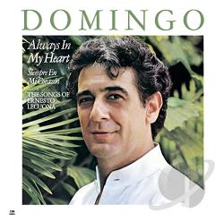 Domingo, Placido - Siempre en mi corazon (Always in My Heart) CD Cover Art