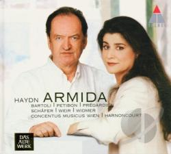 Haydn, J. - Haydn: Armida CD Cover Art