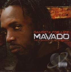 Mavado - Gangsta for Life: The Symphony of David Brooks CD Cover Art