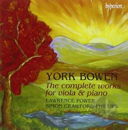 Bowen, Y. - York Bowen: The Complete Works for Viola & Piano CD Cover Art