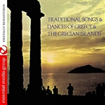 Traditional Songs & Dances Of Greece & The Grecian CD Cover Art