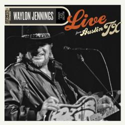 Jennings, Waylon - Live from Austin TX LP Cover Art