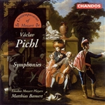 Bamert / London Mozart Players / Pichl - Pichl: Symphonies CD Cover Art
