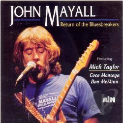 Mayall, John - Return of the Bluebreakers CD Cover Art