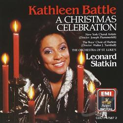 Battle, Kathleen - Christmas Celebration CD Cover Art