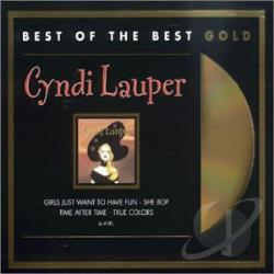 Lauper, Cyndi - Time After Time: The Best of Cyndi Lauper CD Cover Art