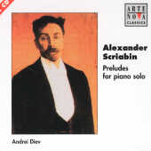Scriabin, Alexander - Scriabin:Preludes For Piano Solo CD Cover Art