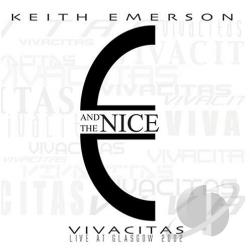 Emerson, Keith - Vivacitas: Live at Glasgow 2002 CD Cover Art