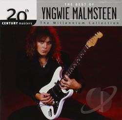 Malmsteen, Yngwie - 20th Century Masters - The Millennium Collection: The Best of Yngwie Malmsteen CD Cover Art