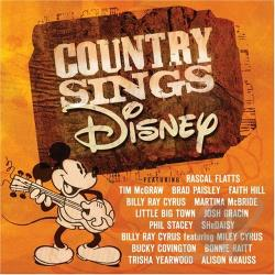 Country Sings Disney CD Cover Art