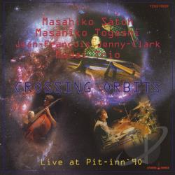 Satoh, Masahiko - Crossing Orbits: Live CD Cover Art