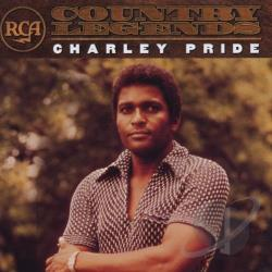 Pride, Charley - RCA Country Legends CD Cover Art