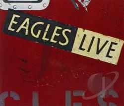 Eagles - Eagles Live CD Cover Art