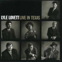 Lovett, Lyle - Live in Texas CD Cover Art