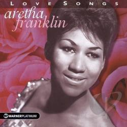 Franklin, Aretha - Love Songs CD Cover Art