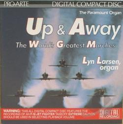 Larsen, Lyn - Up And Away CD Cover Art