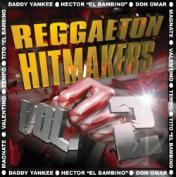 Reggaeton Hitmakers Love Stories CD Cover Art