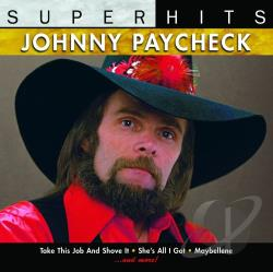 Paycheck, Johnny - Super Hits CD Cover Art