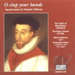 Gibbons, Orlando - O Clap Your Hands CD Cover Art