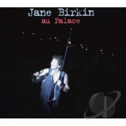 Birkin, Jane - Au Palace CD Cover Art