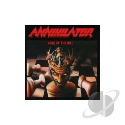 Annihilator - King of the Kill CD Cover Art