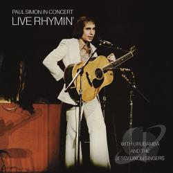 Simon, Paul - Paul Simon in Concert: Live Rhymin' CD Cover Art