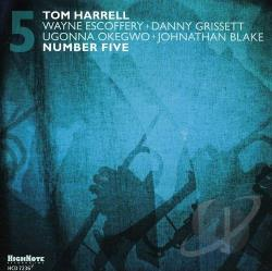 Harrell, Tom - Number Five CD Cover Art
