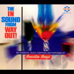 Beastie Boys - In Sound from Way Out! CD Cover Art