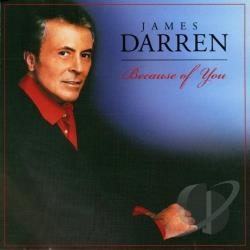 Darren, James - Because of You CD Cover Art