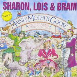 Sharon, Lois & Bram - Mainly Mother Goose CD Cover Art