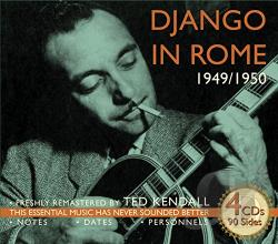 Reinhardt, Django - Django in Rome 1949-1950 CD Cover Art