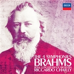 Brahms / Cgb / Chailly - Brahms: The 4 Symphonies CD Cover Art