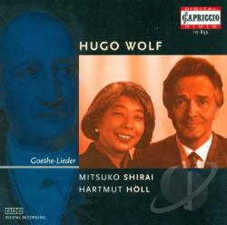 Holl / Shirai / Wolf - Wolf: Goethe-Lieder CD Cover Art