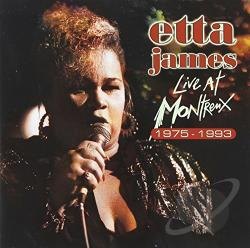 James, Etta - Live at Montreux 1978-1993 CD Cover Art