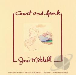 Mitchell, Joni - Court and Spark CD Cover Art