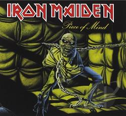 Iron Maiden - Piece of Mind CD Cover Art